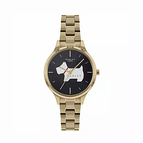 RADLEY Ladies Meridian Place Gold Bracelet Strap Watch - RY4520
