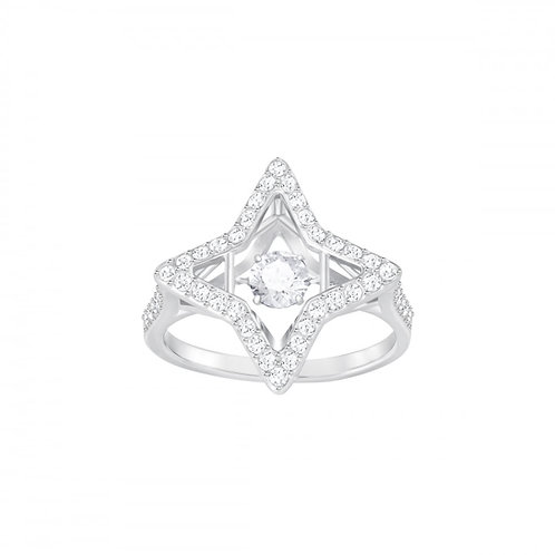SWAROVSKI Sparkling Dance Star Ring Clear Crystal - 537293