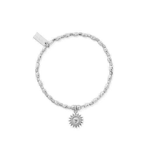 ChloBo Silver Soul Glow Sunshine Bracelet - SBCFR3085