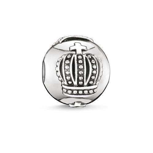 Thomas Sabo Karma Crown Silver Bead Charm - K0034-001-12