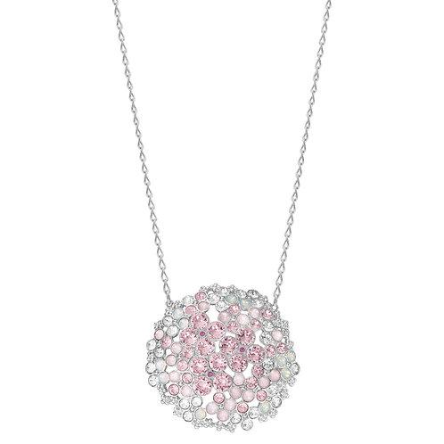 SWAROVSKI Sparkling Cherie Pink Crystal Necklace - 5111318