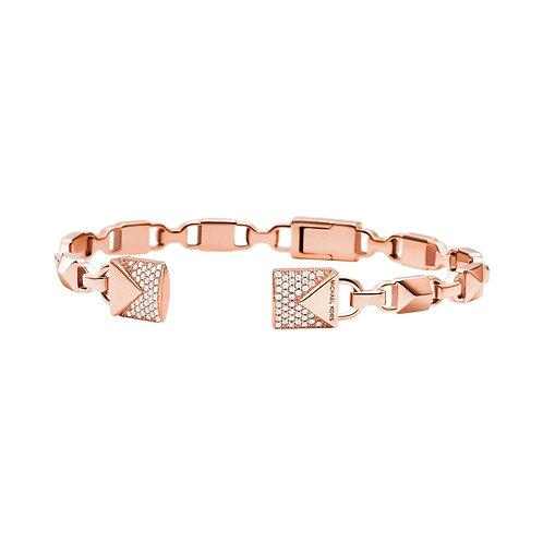 Michael Kors Mercer Link Rose Gold Bangle Bracelet