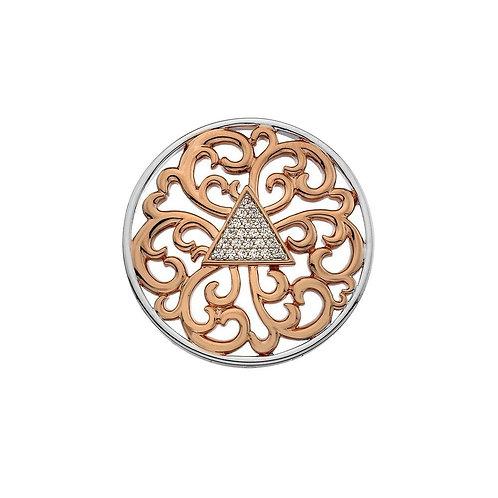 Emozioni by Hot Diamonds Rose Gold Cleopatra Coin - EC469