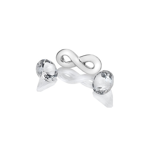 Anais by Hot Diamonds Sterling Silver Infinity Charm - AC120