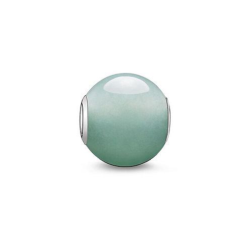 Thomas Sabo Karma Green Aventurine Stone Charm -K0049-010-6