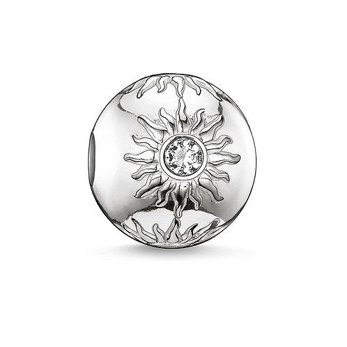 Thomas Sabo Karma Sun Silver Bead Charm - K0010-051-14
