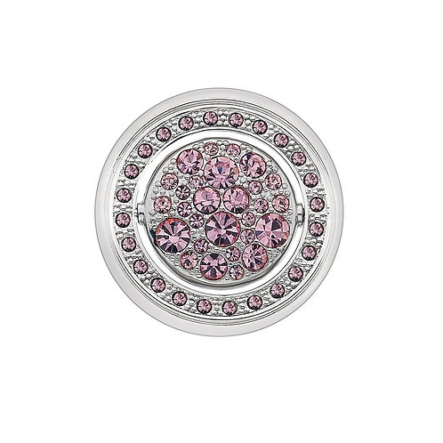 Emozioni by Hot Diamonds Purity and Compassion Quattro Clear and Pink CZ Coin