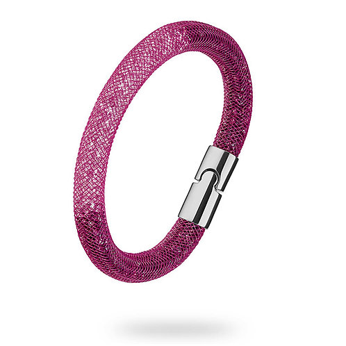 SWAROVSKI Purple and Pink Two Tone Stardust Bracelet - 5184174 MEDIUM