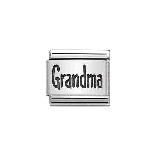 Nomination Silvershine Grandma Charm Link - 330102/44