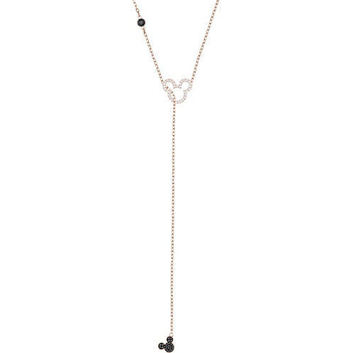 SWAROVSKI Mickey and Minnie Multi-coloured Y Drop Necklace - 5429084