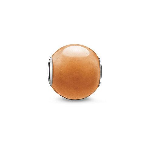 Thomas Sabo Karma Red Aventurine Stone Charm -K0043-010-10