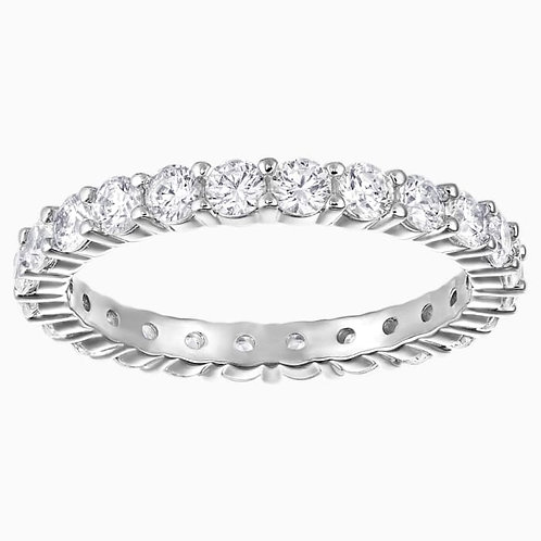 SWAROVSKI Vittore Marquise XL Ring Rhodium Tone Clear Crystal