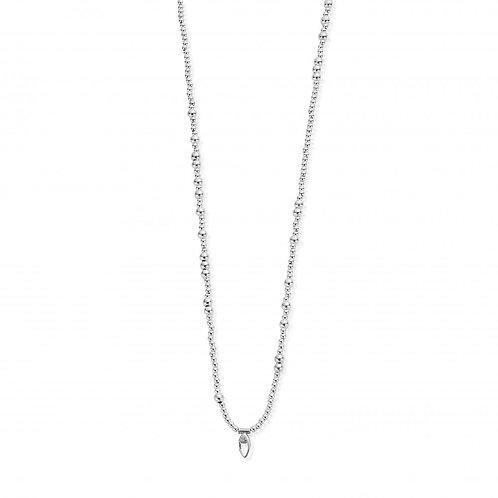 ChloBo Sterling Silver Random Necklace 80cm - SNPRAN3