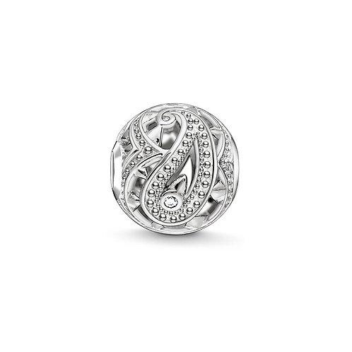 Thomas Sabo Karma Paisley Design Bead Charm - K0216-643-14