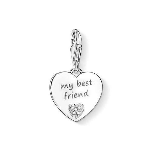 Thomas Sabo My Best Friend Diamond Charm - DC0024-725-14
