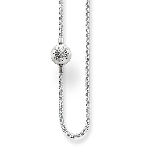 Thomas Sabo Karma Sterling Silver Charm Necklace -KK0001-001-12