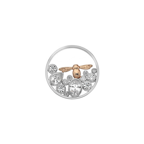 Emozioni by Hot Diamonds Spirito Libero BEE CZ Coin