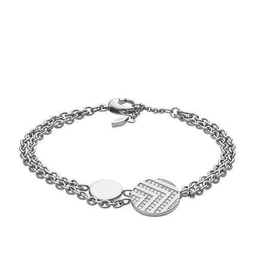 Fossil Women's Stainless Steel Vintage Glitz Bracelet