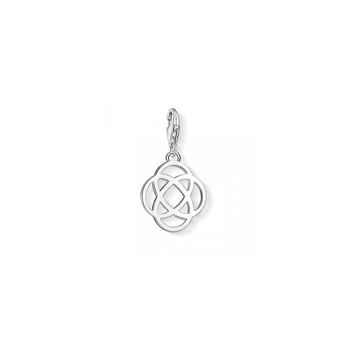 Thomas Sabo Silver Limited Edition Love Knot Pendant Charm - 1138-001-12