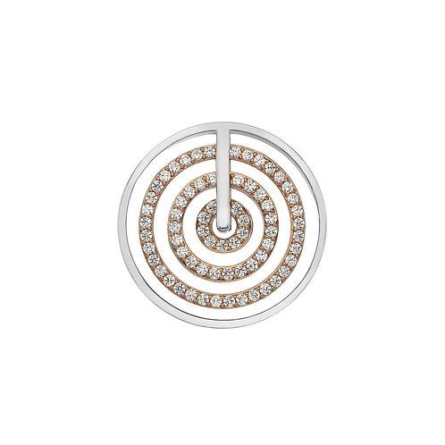 Emozioni by Hot Diamonds Entro Rose Gold Coin - EC494