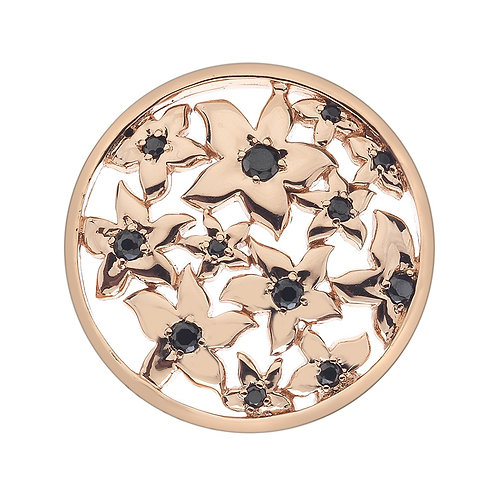 Emozioni by Hot Diamonds Rose Gold Blossom Flowers Coin - EC104