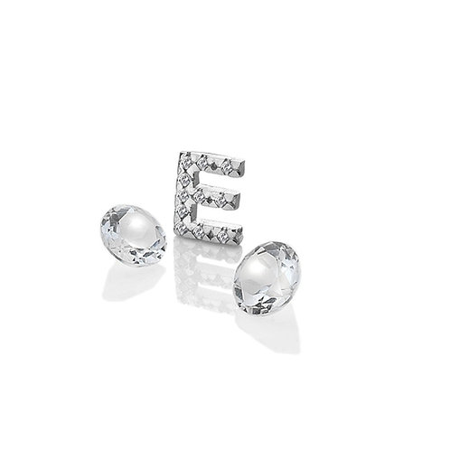 Anais by Hot Diamonds Sterling Silver Letter E Charm - AC073