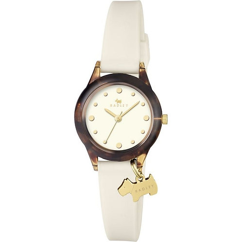 RADLEY Ladies WATCH IT! Cream Silicone Strap Watch - RY2432
