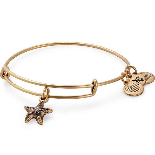 Alex and Ani Rafaelian Gold 'Starfish' Charm Bangle - A17EBSTRFRG