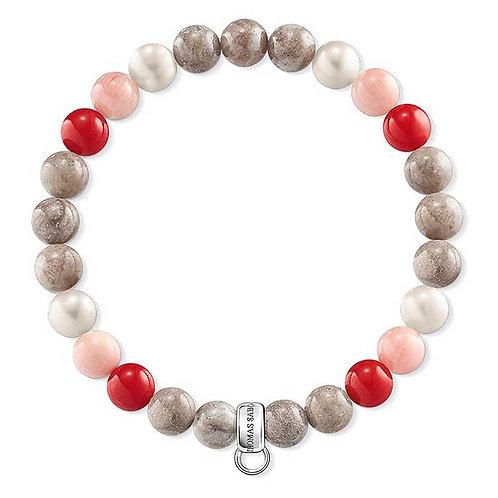 Thomas Sabo Multi-coloured Bead Bracelet - X0212-943-7
