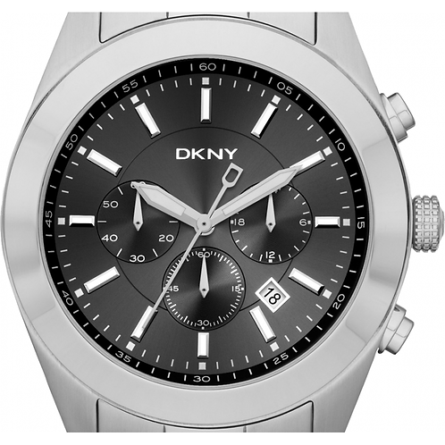 DKNY Mens Chronograph Nolita Stainless Steel Strap Watch - NY1507