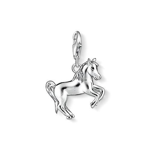 Thomas Sabo Silver Jumping Horse Charm - 1074-007-12