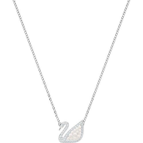 SWAROVSKI Iconic Swan Crystal Pearl Necklace - 5416605