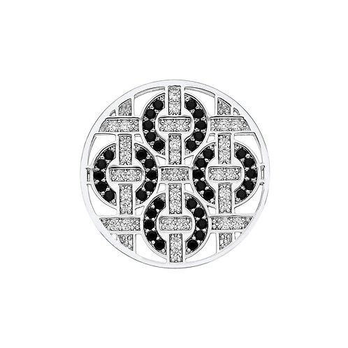 Emozioni by Hot Diamonds Telaio Black CZ Coin - EC204