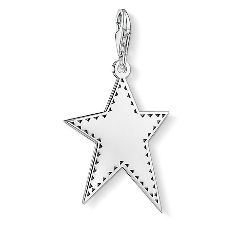 Thomas Sabo Silver Star Charm - Y0041-637-21