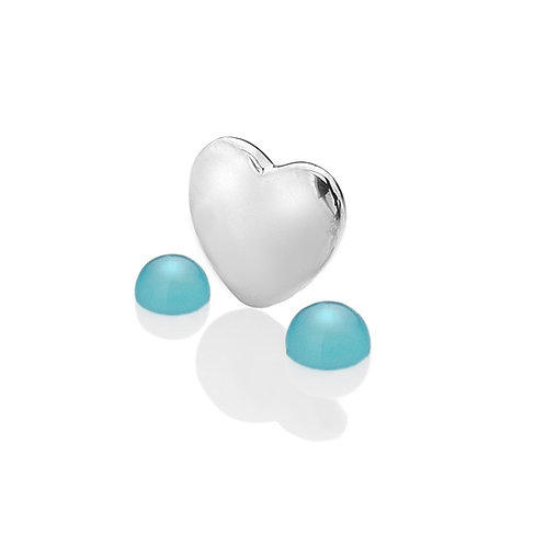 Anais by Hot Diamonds Sterling Silver September Birthstone Charm - AC029