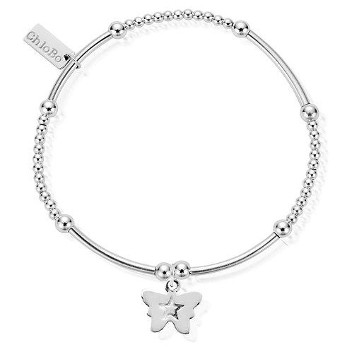 ChloBo Cute Mini Butterfly Charm Bracelet - SBCM408