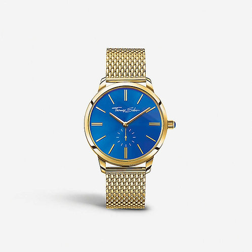 Thomas Sabo Ladies Glam Spirit Gold Mesh Strap Watch - WA0274