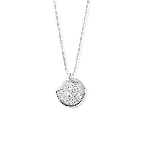 ChloBo Sterling Silver Virgo Starsign Necklace