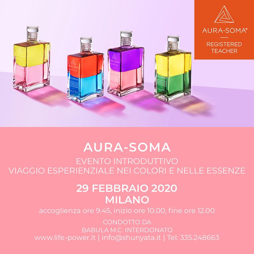 AURA-SOMA - Viaggio Esperienziale nei Colori e nelle Essenze