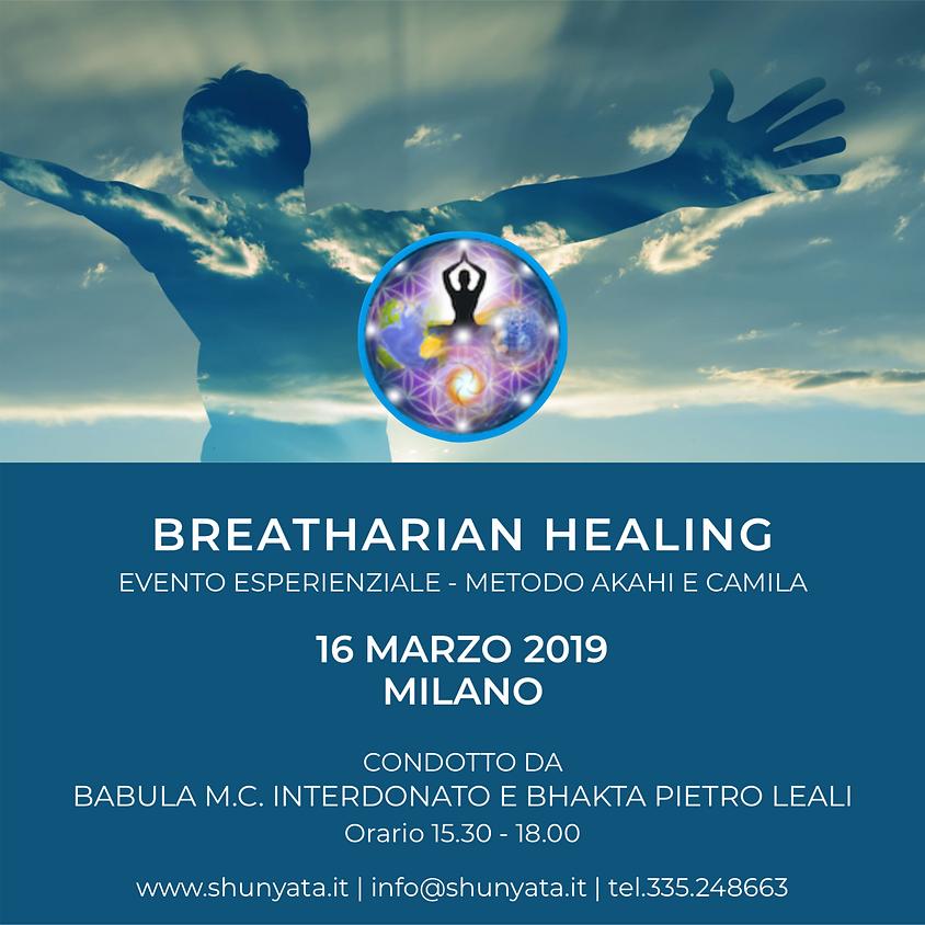 BREATHARIAN HEALING - Evento Esperienziale - con Babula&Bhakta