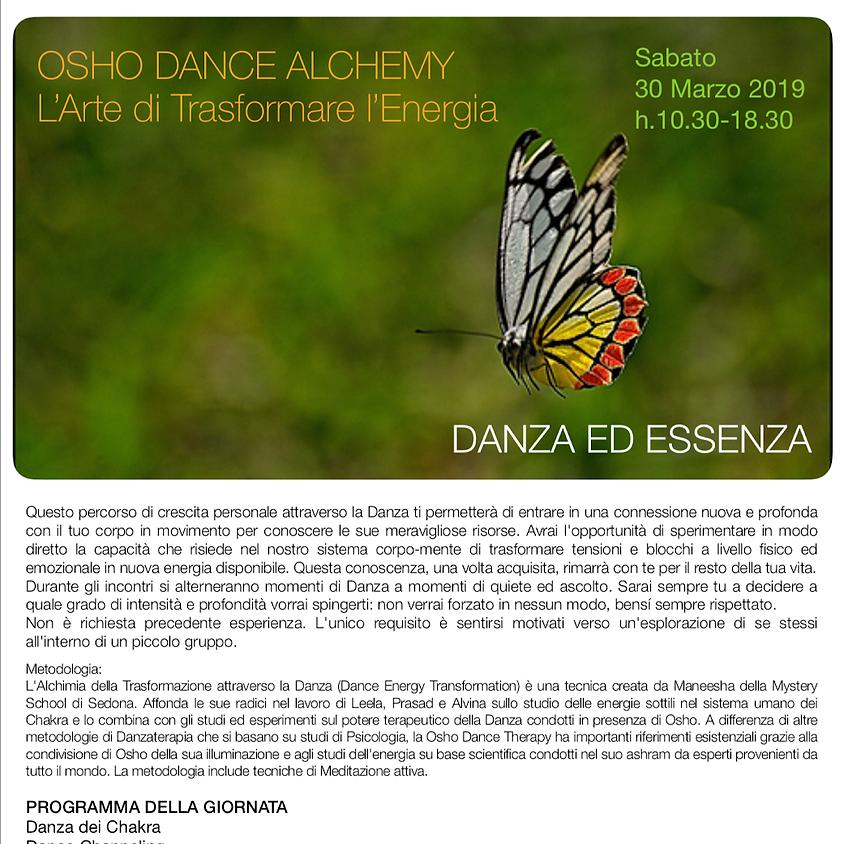 OSHO DANCE ALCHEMY: L'arte di trasformare l'energia - con Maru Nartan