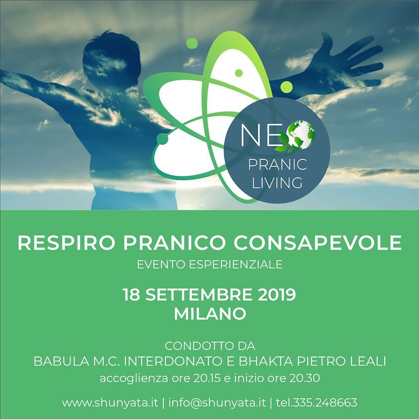 RESPIRO PRANICO CONSAPEVOLE - Evento Esperienziale