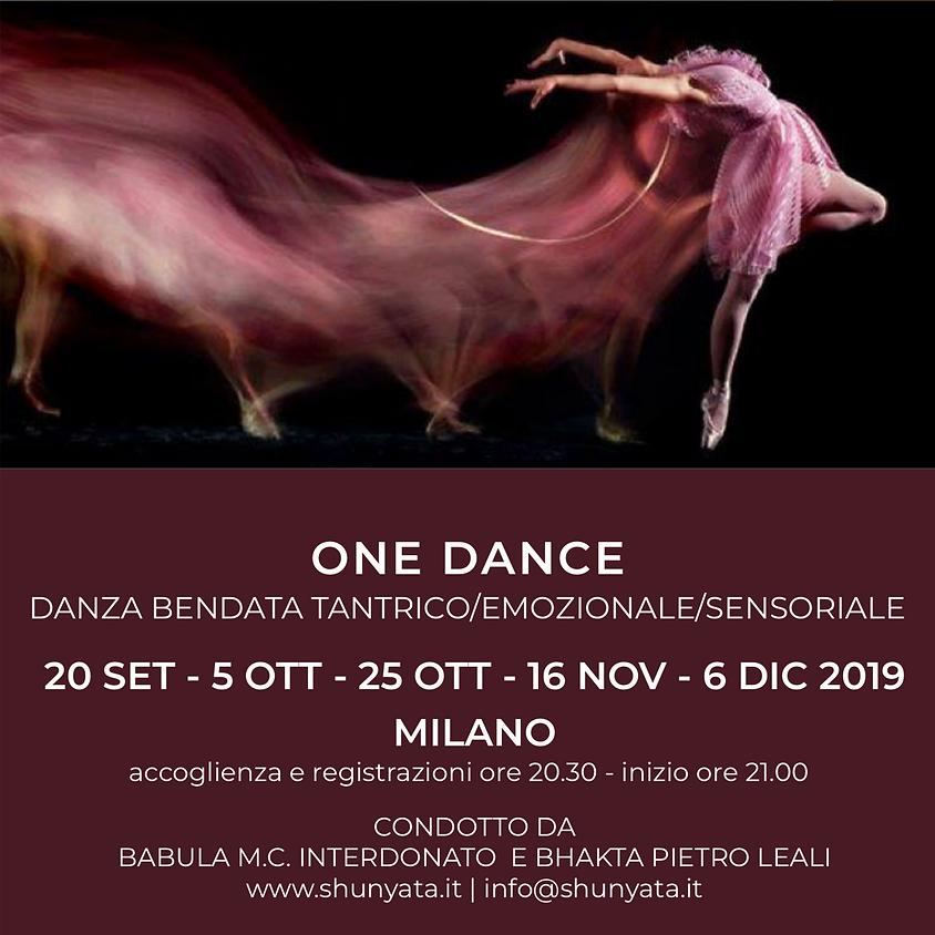 ONE DANCE: Danza Bendata Tantrico/Emozionale/Sensoriale
