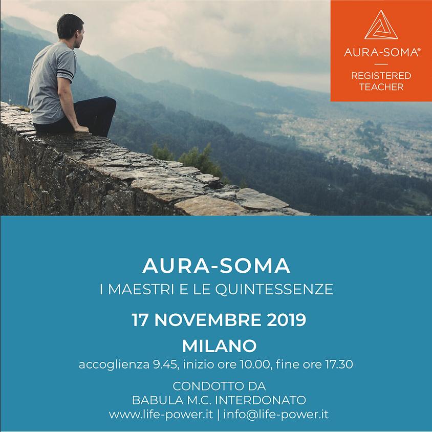 AURA-SOMA - I Maestri e le Quintessenze