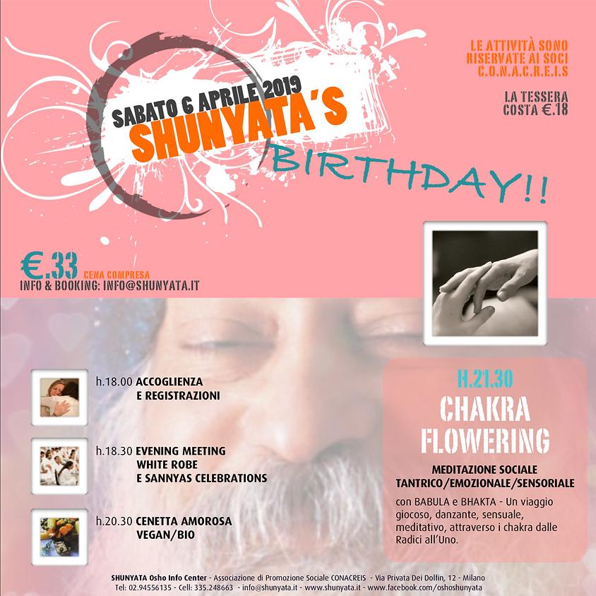 SHUNYATA'S BIRTHDAY!!