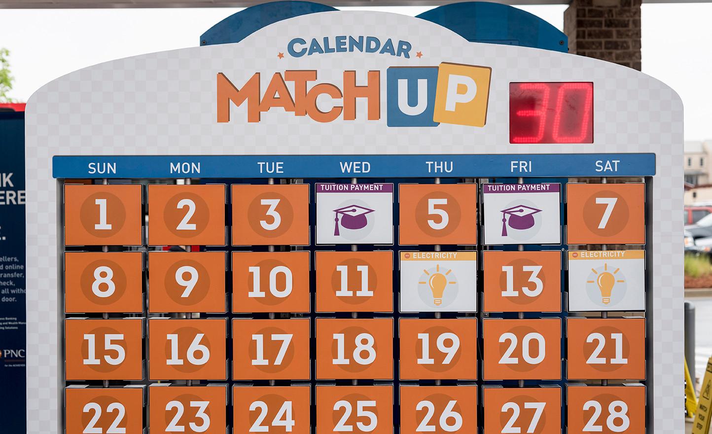Calendar Matchup