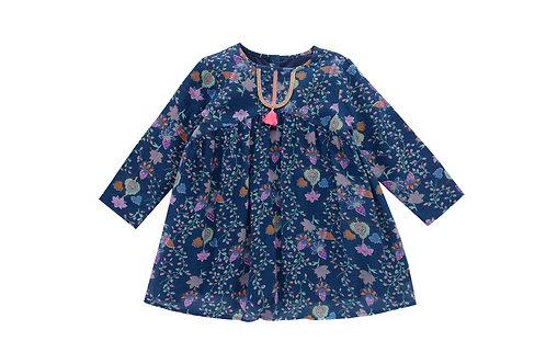 Dress Tatiana, Blue Pine Cone - Louise Misha