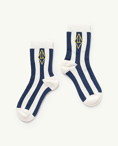Skunk Kids Socks, White Logo - TAO