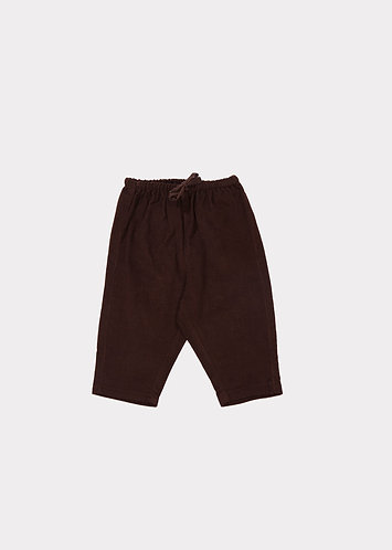 Cat Baby Trouser, Chocolate - Caramel