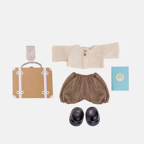 Dinkum Doll Travel Togs, Rust  - Olli Ella